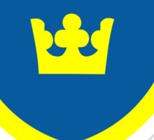 Country - Swedish Three Crowns Sticker