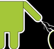 Cyberdroids - Delete Sticker