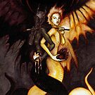 Satan & Lucifer by unknownbinaries