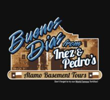 Inez & Pedro's Alamo Basement Tours Kids Clothes