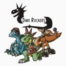 Dino Rockers Babies by KimboDragon
