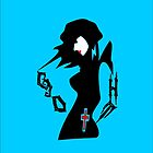 ۞»♥Gorgeous Goth Girl iPhone & iPod Casse♥«۞ by Fantabulous