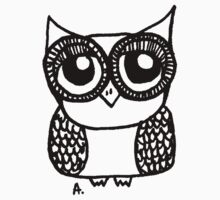 Owl number 5 by annieclayton