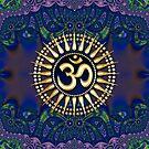Tribal Batik Spiritual OM iPhone & iPod Case by webgrrl