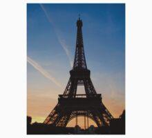 Eiffel Sunset Kids Clothes