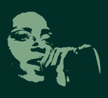 Skye Edwards - Morcheeba - High Contrast - Green by portiswood