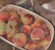 Porch Peaches by Kristine McKay Kinder