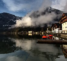 Good Morning reflex hallstatt austria by arthit somsakul