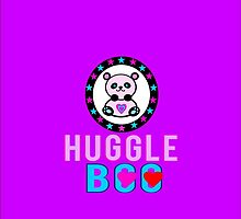 ♥ټSuper Cute Panda Huggle-Boo iPhone & iPod Casesټ♥ by Fantabulous