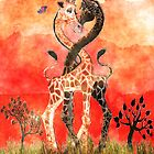Giraffe Love by Kay Patterson