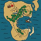 Pirate Map by pondripple