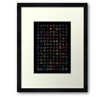 The original 150 Framed Print