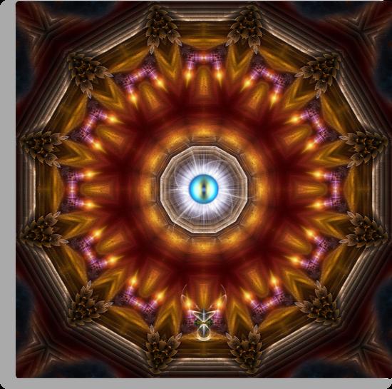 The Watching Eye by xzendor7