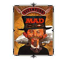 Steampunk MAD Photographic Print