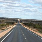 Driving the Nullarbor Plains by Finkie