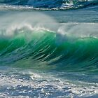 Carmel Beach Wave by Stephanie Macwhorter