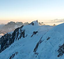 Massif du Mont Blanc I by Tom Fahy