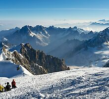 Massif du Mont Blanc VI by Tom Fahy