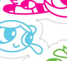 powerpuff Sticker
