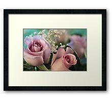 Moon Fleur ~ Luna Rose Framed Print