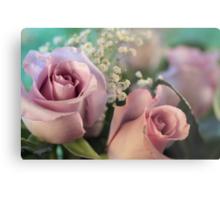 Moon Fleur ~ Luna Rose Metal Print