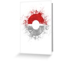 Poke'ball Greeting Card