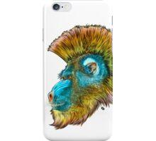 Mohawk Mandrill iPhone Case/Skin