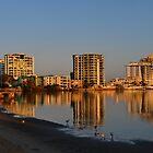 Maroochy River Sunrise. Maroochydore, Queensland, Australia by Ralph de Zilva