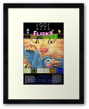 Flicky 1991 by John King III