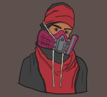 Gas Masked Protester by YankariDesign