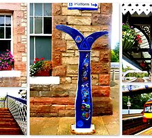 Aberdour Railwaystation by ©The Creative  Minds