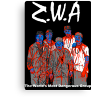 Zombies With Attitude Canvas Print