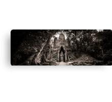 Angkor Thom West Gate Canvas Print