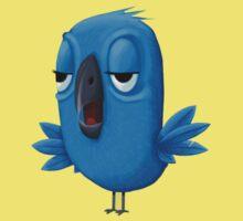 Grumpy Bird! by orangepeel