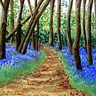 A Carpet of Blue by Corrina Holyoake