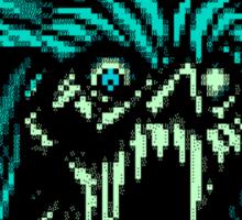 DEMONHEAD (Blue) Sticker