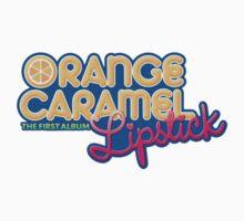 Orange Caramel Lipstick by supalurve