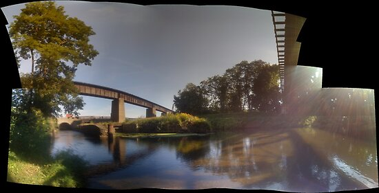 fishing pano by andytechie
