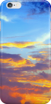 Just a Pretty Sunset (iPhone Case) by AuntDot