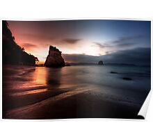 Cathedral Cove, Coromandel, New Zealand Poster