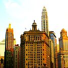 Chicago Glow by Yajhayra Maria