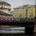 St Petersburg - Bridges and Buildings by Derek  Rogers