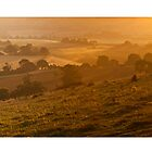 Ivinghoe Beacon Sunrise Panoramic # 1 by Dale Rockell