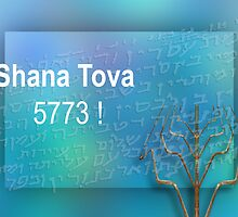 SHANA TOVA! by dominiquelandau