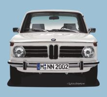 BMW 2002 Neue Klasse (Chamonix White) by Sharknose