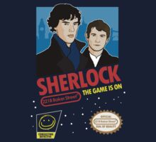 Sherlock NES Game by Tom Trager