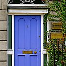 Purple Door, Dublin, Ireland by Mary Fox