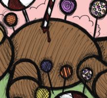 Teddy Bear and Bunny - Sugar Crash Sticker