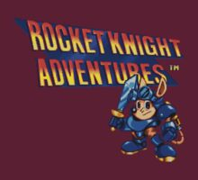 Rocket Knight Adventures (big print) T-Shirt