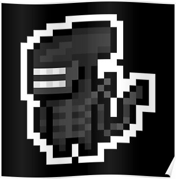 "Pixel ""Alien"" sticker by PixelBlock"